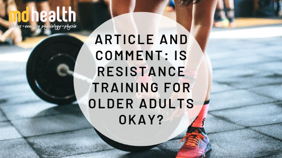 is resistance training for older adults okay