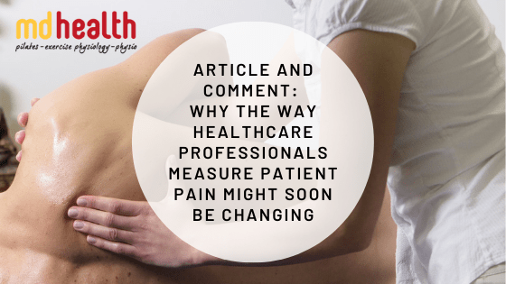article and comment - measuring pain